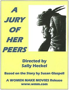 Main characters of A Jury of Her Peers by Susan Glaspells?