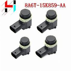 [ 20% OFF ] (4Pcs) Wireless Parking Sensors 8A6T-15K859-Aa 9G92-15K859-Ab Parking Pdc Sensor For Ford Fiesta Focus Mondeo S-Max C-Max C-Max