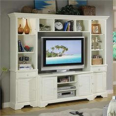 Riverside Furniture Splash of Color 50-Inch TV Entertainment Center