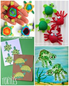 Turtle Crafts for Kids to Make - Crafty Morning