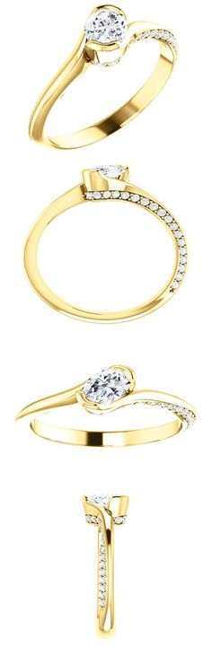 14kt Yellow Gold 5mm Center Oval Cuboic Zirconia (Color:White, Quality: Standard) and 36 Accent Dimonds (Color:I-J, Clarity: I1) Engagement Ring...(ST122063:250:P).! Price: $529.99 #diamonds #ring #gold #bezelring #fashion #jewelry Jewellery Rings, Jewlery, Wedding Engagement, Engagement Rings, Dimonds, Bezel Ring, Pink Sapphire, Up, Fashion Jewelry