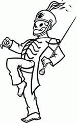 Black parade skeleton