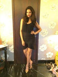 Deepika in black Facebook