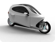 Enclosed electric bike