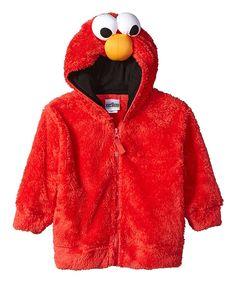 Elmo Faux Fur Hoodie - Toddler & Kids