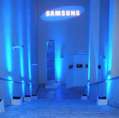SAMSUNG @ Milano / Roma. Core Values, Innovation, Samsung, Neon Signs, Events, Design
