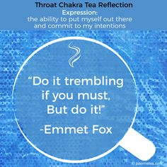 Throat Chakra Tea Reflection #chakras #throatchakra #chakrahealing #chakrateameditations #7days7chakras