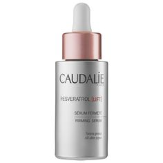 Caudalie Resveratrol Lift Firming Serum plumps the look of skin for a naturally lifted, youthful appearance.