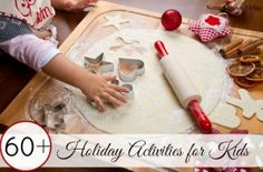 60+ holiday activities for kids- books, crafts, nature inspired activites, Bible activities, ornaments, sensory play and more