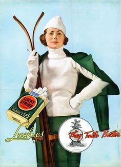 Lucky Strike #vintage #ad