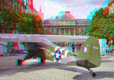 Liberty Paris 1944 3D 3d Pictures, 3d Glasses, 3d Photo, Mixer, Red And Blue, Liberty, 3 D, Aviation, Community