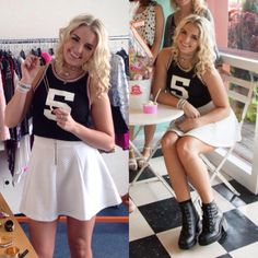 Rydel Lynch fashion : outfits for Girls' Life magazine in Baltimore on Sep. 8 2014!
