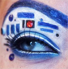StarWars Eye Make Up