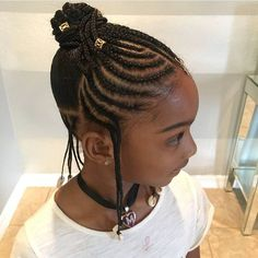313 Likes, 3 Comments – Natural Hairstyles for Girls (Brown Girls Hair) on Ins. 313 Likes, 3 Comme Little Girl Braids, Black Girl Braids, Braids For Kids, Kid Braids, Baby Girl Hairstyles, Black Girls Hairstyles, Braided Hairstyles, Kids Hairstyle, Toddler Hairstyles