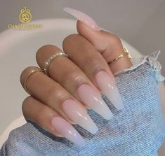 There are three kinds of fake nails which all come from the family of plastics. Acrylic nails are a liquid and powder mix. They are mixed in front of you and then they are brushed onto your nails and shaped. These nails are air dried. Coffin Nails, Gel Nails, Nail Polish, Kylie Nails, Matte Nails, Stiletto Nails, Cute Acrylic Nails, Acrylic Nail Designs, Acrylic Art
