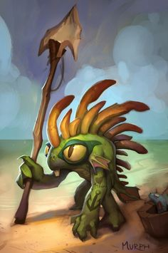 Murph: Gallery Nucleus demos  I'll go back to WoW when we can play murlocs