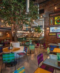 Mexican Restaurant Decor, Mexican Bar, Fresco, Nova, Fruit, Decoration, Interior, Projects, Al Pastor