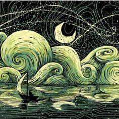 James R Reed artwork.