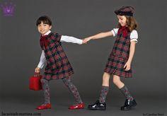 www.lacasitademartina.com  #kids #modainfantil #ropaniños ♥ VUELTA AL COLE 2015 DeLuxe de la marca de moda infantil DOLCE & GABBANA ♥ : ♥ La casita de Martina ♥ Blog de Moda Infantil, Moda Bebé, Moda Premamá & Fashion Moms