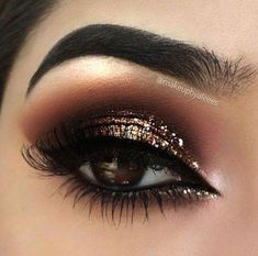 Love This Helpful Eye Makeup For Beginners Pic # 0244 . Love this helpful eye makeup for beginners Pic # 0244 shadow colors for BROWN eyes, colorsBest ma. Sparkly Makeup, Makeup Eye Looks, Glitter Eye Makeup, Smokey Eye Makeup, Cute Makeup, Eyeshadow Makeup, Hair Makeup, Glam Makeup, Gold Glitter Eyeshadow