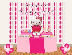 Hello Kitty Party Ideas - by a Professional Party Plannerhello kitty birthday table
