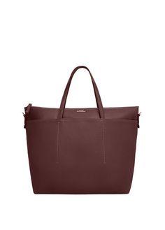 MANGO Faux Leather Shopper Bag - £19.99