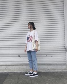Pin on working-girl outfit Cute Casual Outfits, Edgy Outfits, Retro Outfits, Korean Outfits, Vintage Outfits, Fashion Outfits, Korean Ootd, Korean Fashion Trends, Korean Street Fashion