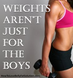 Women don't be scared to lift weights! #fitness #motivation