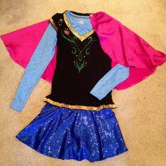 Princess Anna Running Costume #RunDisney #Enchanted10k #Frozen Disney Princess Half Marathon Weekend