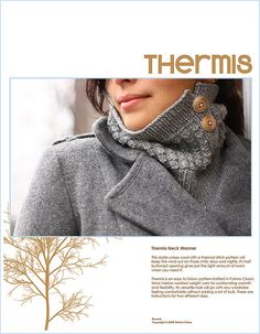 @Sally Stewart - is you happen to be knitting for christmas, this pattern is only 5 bucks or so...  Thermis Cover Page by krispatay, via Flickr