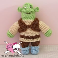 Ravelry: Shrek pattern by Forever Stitchin