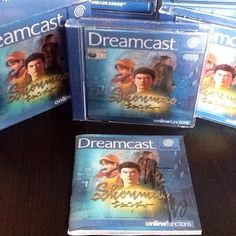 Signed Shenmue (Dreamcast)