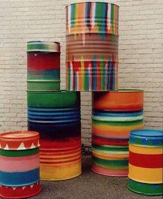 Vintage Circus Inspiration : Barrels