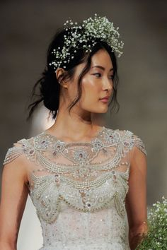 The Makeup Brush Couture Wedding Gowns, Wedding Dresses, Sparkly Outfits, Sparkly Clothes, Bridal Crown, Bridal Veils, Beautiful Gowns, Beautiful Things, Bridal Looks