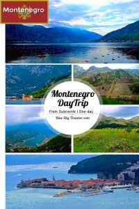 Dubrovnik to Montenegro Daytrip