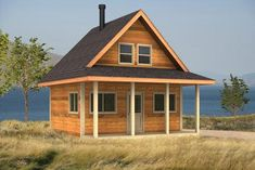 Puffin tiny home plan 466 sq ft