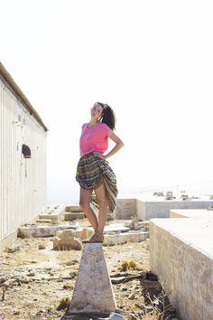 vaporous skirt