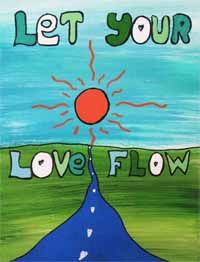 let your love flow -