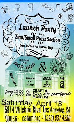 4/18  Introducing: CAFAM Zine Space — Craft & Folk Art Museum Shop