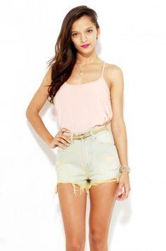 Lovin' the bleach UNIF Shorts, found them at shopakira.com :)