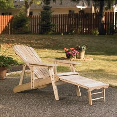 Adjustable Cedar/fir Adirondack Chair, Model# Kmgy1101