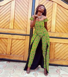 Collection Jumpsuit 2018 : Check New Look You Will Love ThemLatest Ankara Styles and Aso Ebi Styles 2020 African Attire, African Wear, African Women, African Dress, African Clothes, African Style, African Inspired Fashion, African Print Fashion, Africa Fashion