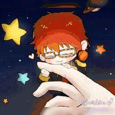 Image about anime boy in Mystic Messenger by Ene Hatsune Saiunkoku Monogatari, Mystic Messenger Yoosung, Mystic Messenger Characters, Zen, Mini Comic, Saeran, Gekkan Shoujo, Illustrations, Kawaii Anime