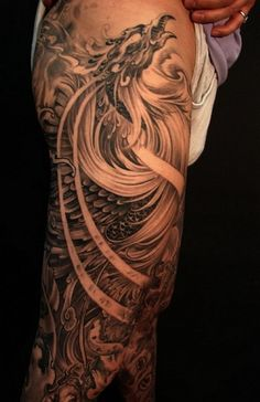 This has to be the best phoenix tattoo I have ever seen. Need to find a really talented artist to do one like it.