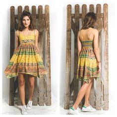 WWW.SAYNALORIO.COM.BR disponível na nossa webstore vestido pontas estampa maya   #saynalôrio #saynalôfeeling #boho #gypsy #hippie #surf #dress #fashion #rioetc #style #lookoftheday