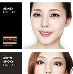 [Pony X Memebox] Shine Easy Glam Eyeshadow Palette 1 (Renewal) - Hermo Online Beauty Shop Malaysia