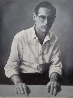 Bill Evans (original Oil painting by Steve Price)