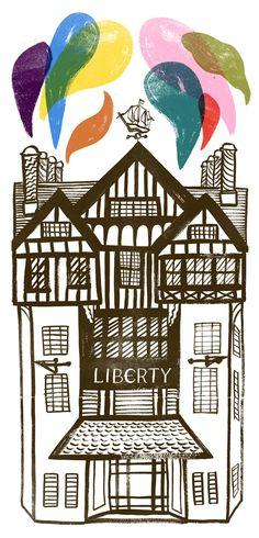 Liberty London by Sarah Tanant-Jones