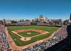 √ - Chicago Cubs at Wrigley Field...capacity 41,118