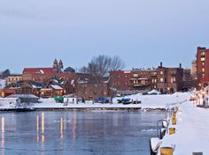 Marquette, Mich. made Conde Nast Traveler's list of 10 of the snowiest places in the world.